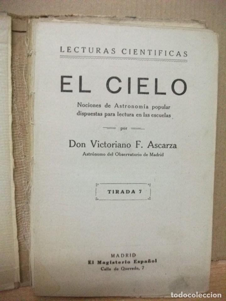 Libros: Victoriano Ascarza. El Cielo - Foto 2 - 83779724