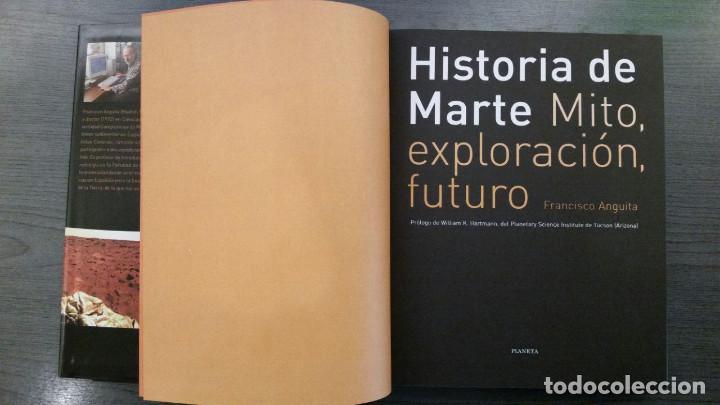 Libros: HISTORIA DE MARTE MITO, EXPLORACION Y FUTURO - Foto 2 - 145269522