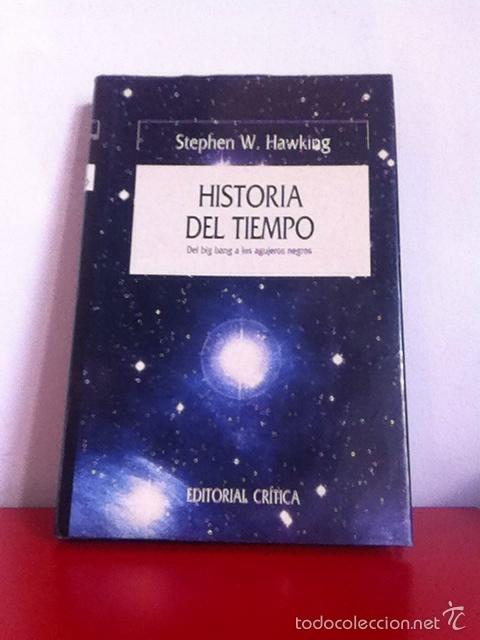 HISTORIA DEL TIEMPO. STEPHEN HAWKING (Libros Nuevos - Ciencias, Manuales y Oficios - Astronomía )