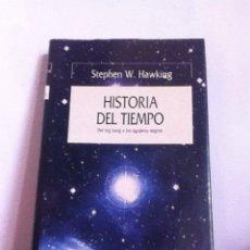 Libri: HISTORIA DEL TIEMPO. STEPHEN HAWKING. Lote 145571278