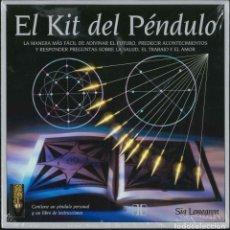 Libros: EL KIT DEL PENDULO . Lote 177351783