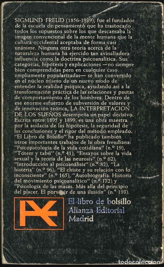 Libros: 2 la interpretacion de los sueños sigmund freud - Foto 2 - 177365934