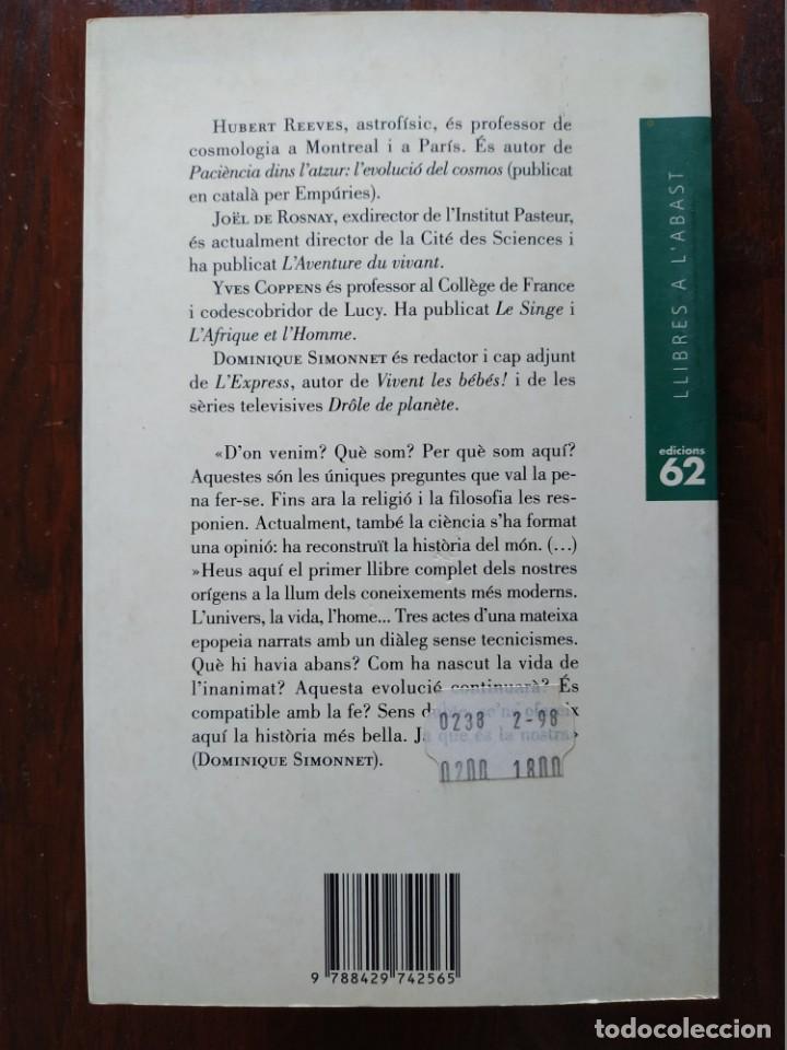 Libros: La historia mes bella del mon, Els secrets del nostres origens de Hubert Reeves un altre alternativa - Foto 12 - 183694745
