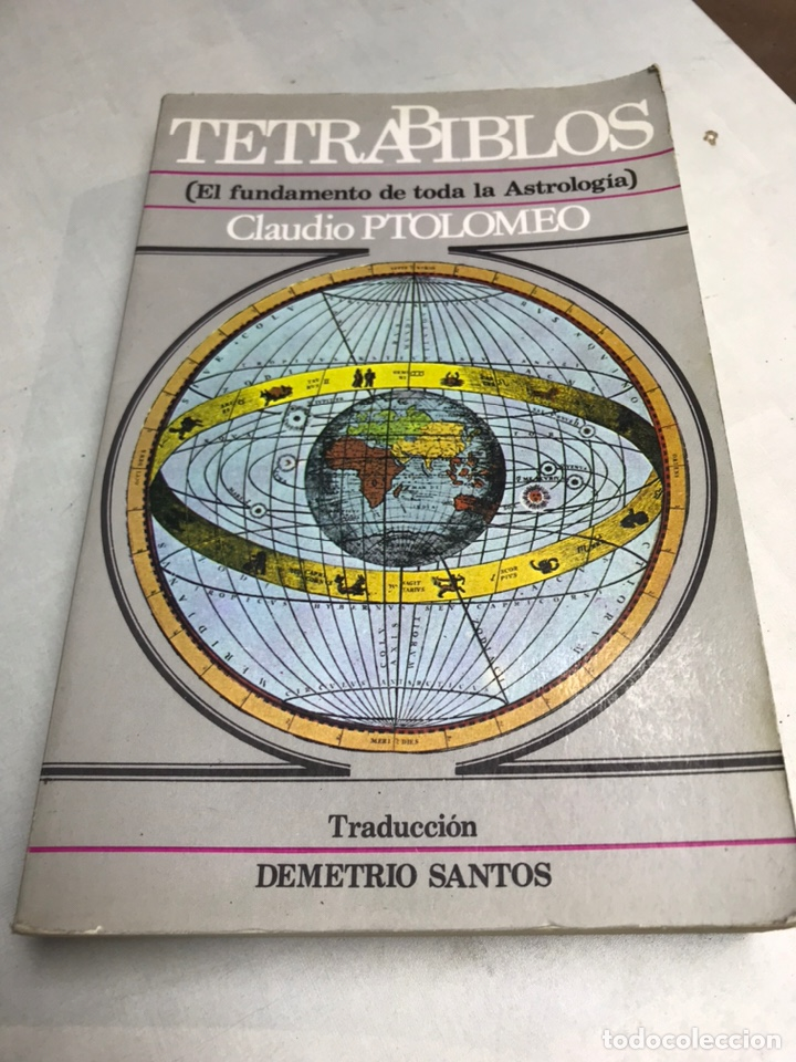 LIBRO - TETRABIBLOS - EL FUNDAMENTO DE TODA LA ASTROLOGIA - CLAUDIO PTOLOMEO (Libros Nuevos - Ciencias, Manuales y Oficios - Astronomía )