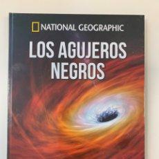 Libros: LOS AGUJEROS NEGROS - ATLAS DEL COSMOS - NATIONAL GEOGRAPHIC - NUEVO. Lote 195809207