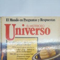 Libros: EL MUNDO EN PREGUNTAS Y RESPUESTAS. COLECCIÒN SM: EL MISTERIOSO UNIVERSO. Lote 196036861