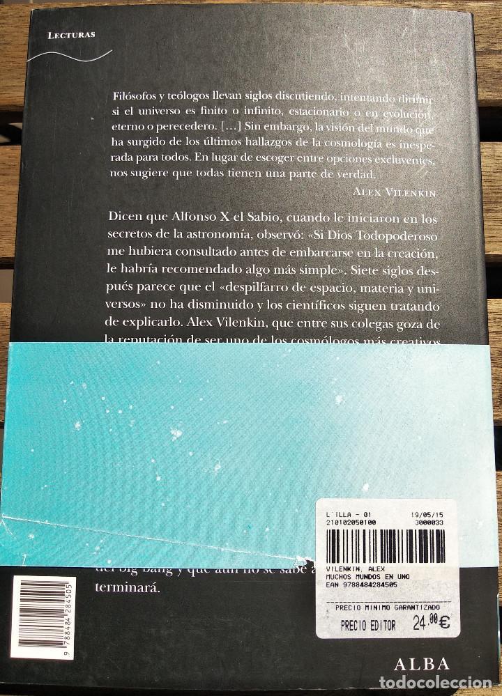 Libros: Muchos mundos en uno. Alex Vilenkin - Foto 2 - 201199096