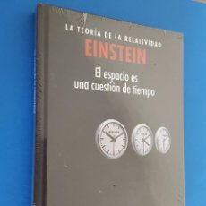 Libros: LIBRO / EINSTEIN / LA TEORIA DE LA RELATIVIDAD / EL ESPACIO ES UNA CUESTION DE TIEMPO. Lote 201788305