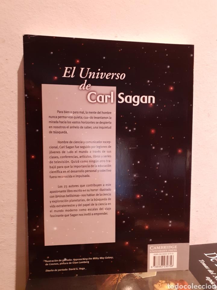 Libros: EL UNIVERSO DE CARL SAGAN - Foto 2 - 206218511