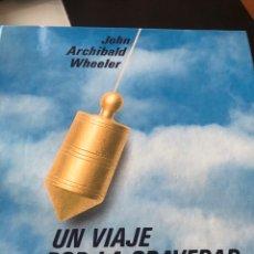 Libros: UN VIAJE POR LA GRAVEDAD Y EL ESPACIO-TIEMPO. Lote 206557612
