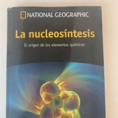 Libros: PASEO POR EL COSMOS - LA NUCLEOSÍNTESIS VOL. 42 - NATIONAL GEOGRAPHIC - NUEVO. Lote 213616162