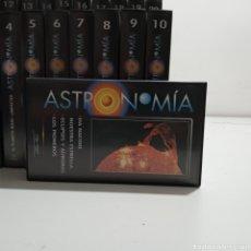 Libros: ASTRONOMIA ORBIS FABBRI COLECCION VIDEOS VHF. Lote 215961653