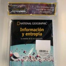 Libros: INFORMACIÓN Y ENTROPÍA VOL. 36- PASEO POR EL COSMOS NATIONAL GEOGRAPHIC. Lote 219054388