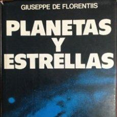 Libros: PLANETAS Y ESTRELLAS. MANUAL DE ASTRONOMÍA MODERNA. NUEVO. Lote 228572707