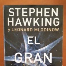 Libros: EL GRAN DISEÑO. STEPHEN HAWKING. LEONARD MLODINOW.. Lote 232844255