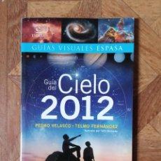 Libros: GUÍA DEL CIELO 2012 - ESPASA. Lote 238575060