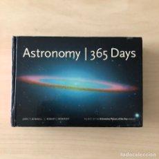Libros: ASTRONOMY 365 DAYS. Lote 243420415