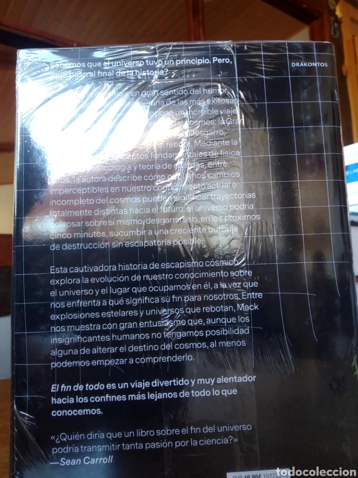 Libros: El fin de todo. Katie mack. Astrofísicamente hablando. Crítica. Precintado - Foto 2 - 246688355