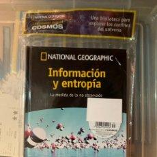 Libros: PASEO POR EL COSMOS INFORMACIÓN Y ENTROPÍA VOLUMEN 36. Lote 248668460