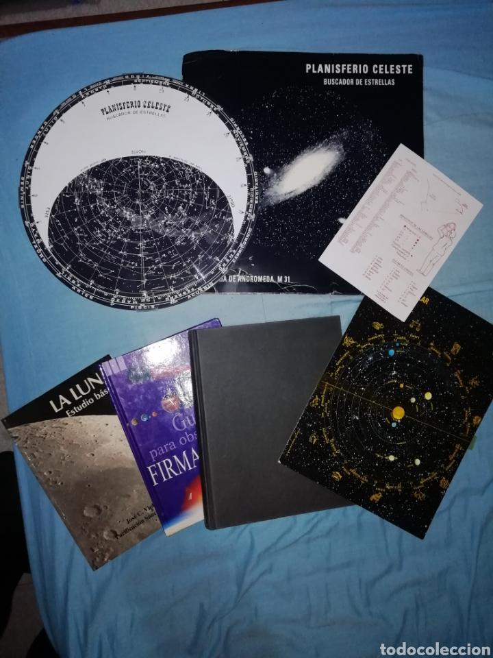 ¡¡¡ OPORTUNIDAD. LOTE ASTRONOMIA!!! 5 ARTÍCULOS. PLANISFERIO CELESTE - PLANETARIO SOLAR + 3 LIBROS. (Libros Nuevos - Ciencias, Manuales y Oficios - Astronomía )