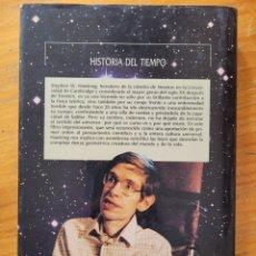 Libros: HISTORIA DEL TIEMPO STEPHEN W HAWKING. Lote 268760094