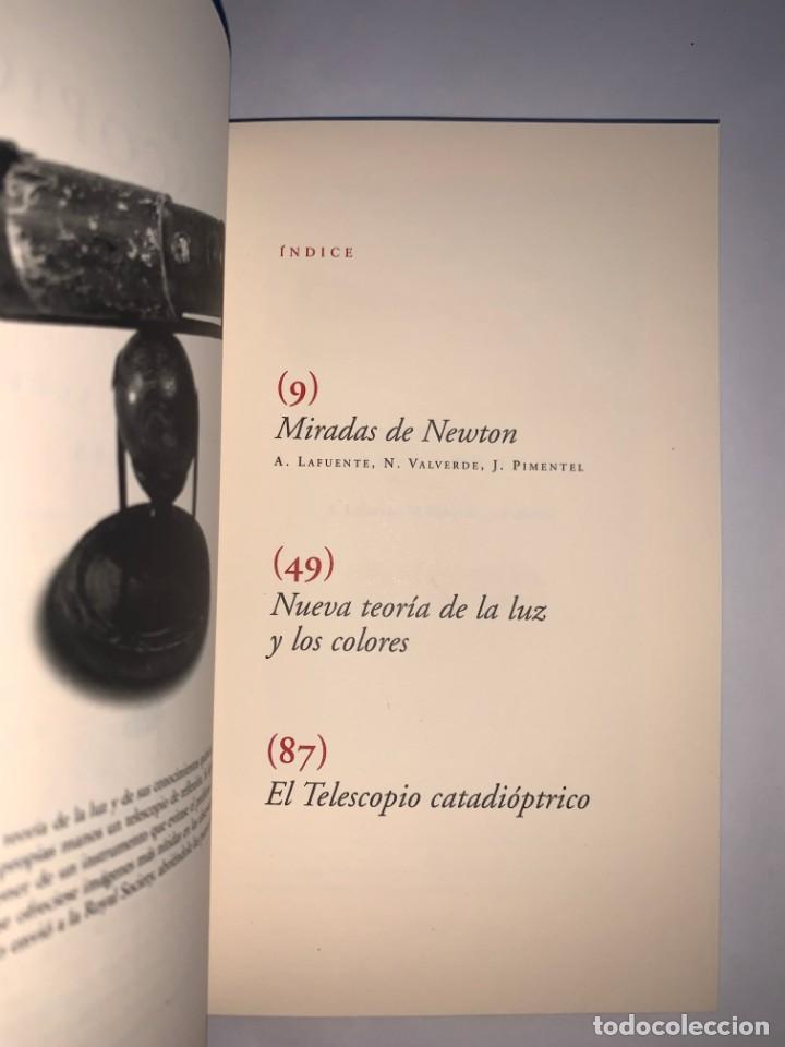 Libros: El telescopio de reflexión. Newton entre luces y cristales. Juan Pimentel. CSIC - Foto 2 - 269805178