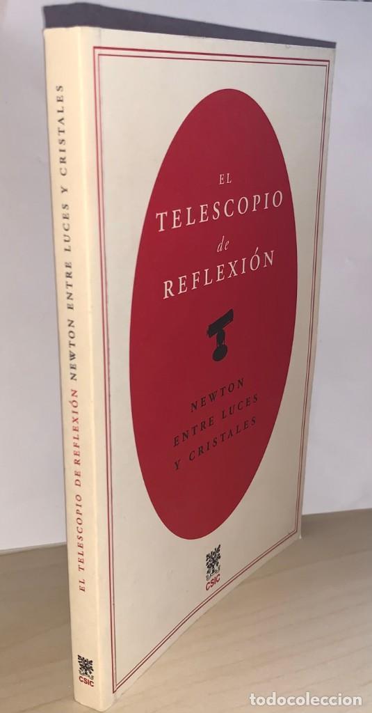 Libros: El telescopio de reflexión. Newton entre luces y cristales. Juan Pimentel. CSIC - Foto 5 - 269805178