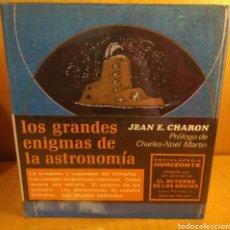 Libros: LOS GRANDES ENIGMAS DE LA ASTRONOMÍA. Lote 270642518