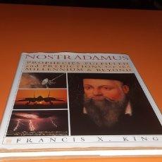 Libros: NOSTRADAMUS PROFECIAS CUMPLIDAS Y PREDICCIONES PARA EL MILENIO Y MAS ALLA EN INGLES. Lote 271991388