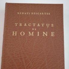 Libros: TRACTATUS DE HOMINE. RENATI DESCARTES. FACSÍMIL. Lote 278946158