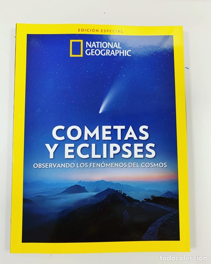 EXTRA NATIONAL GEOGRAPHIC ECLIPSES Y COMETAS - NUEVO (Libros Nuevos - Ciencias, Manuales y Oficios - Astronomía )