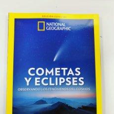 Libros: EXTRA NATIONAL GEOGRAPHIC ECLIPSES Y COMETAS - NUEVO. Lote 284671598