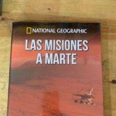 Libri: COLECCIÓN ATLAS DEL COSMOS NATIONAL GEOGRAPHIC MISIONES A MARTE. Lote 289446503