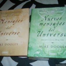 Libros: MENSAJES DEL UNIVERSO. NUEVOS MENSAJES DEL UNIVERSO. Lote 58089248