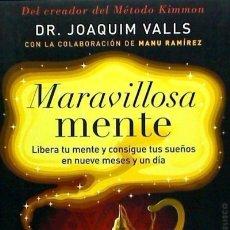 Libros: MARAVILLOSA MENTE EDICIONES OBELISCO S.L.. Lote 67905951