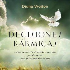 Libros: DECISIONES KÁRMICAS EDICIONES OBELISCO S.L.. Lote 70692350