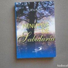 Libros: NUEVOS MINUSTO DE SABIDURIA - SAN PABLO ( GAVAHE ). Lote 75455231