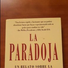 Libros: LA PARADOJA . Lote 79553037