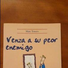 Libros: VENZA A SU PEOR ENEMIGO. Lote 79554133