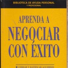 Libros: APRENDA A NEGOCIAR CON ÉXITO ····· PETER FLEMING .. Lote 98627391