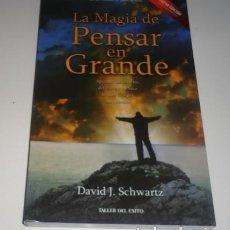 Libros: LA MAGIA DE PENSAR EN GRANDE `POR SCHWARTZ, DAVID J.. Lote 110089143
