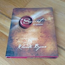 Libros: LIBRO EL SECRETO. LITERATURA. RHONDA BYRNE. THE SECRET. EDICIONES URANO. IMPRESO EN ESPAÑA 2006. Lote 112516990