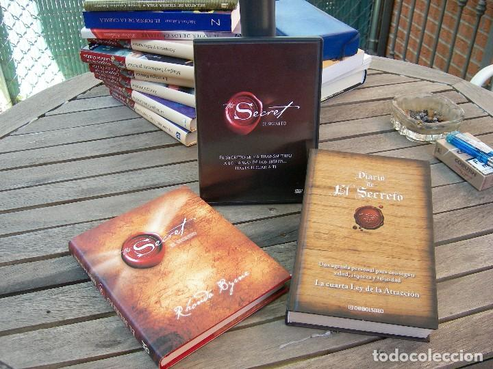 EL SECRETO, RHONDA BYRNE + DIARIO DEL SECRETO + DVD THE SECRET (Libros Nuevos - Humanidades - Autoayudas)