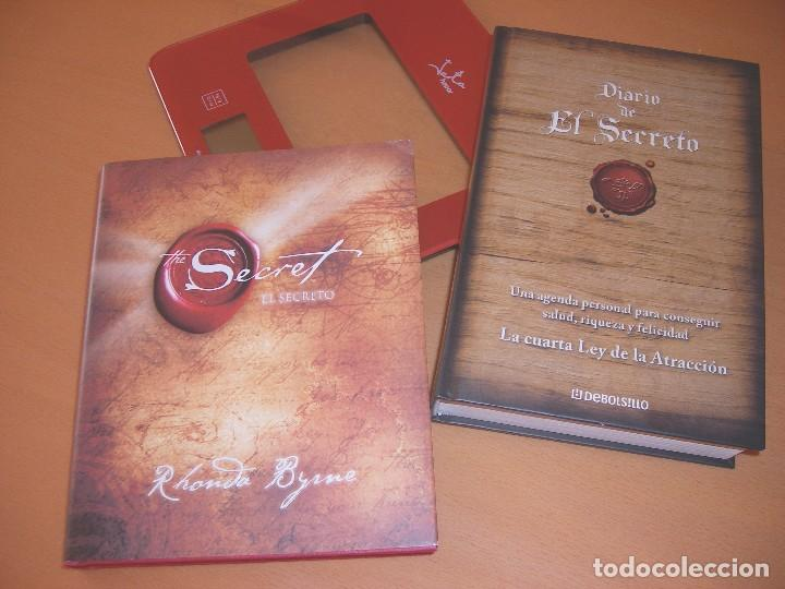 Libros: EL SECRETO, RHONDA BYRNE + DIARIO DEL SECRETO + DVD THE SECRET - Foto 10 - 120458643