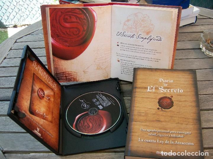 Libros: EL SECRETO, RHONDA BYRNE + DIARIO DEL SECRETO + DVD THE SECRET - Foto 12 - 120458643