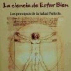 Libros: CIENCIA DE ESTAR BIEN, LA. Lote 70723397