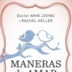 Libros: MANERAS DE AMAR. Lote 128401348