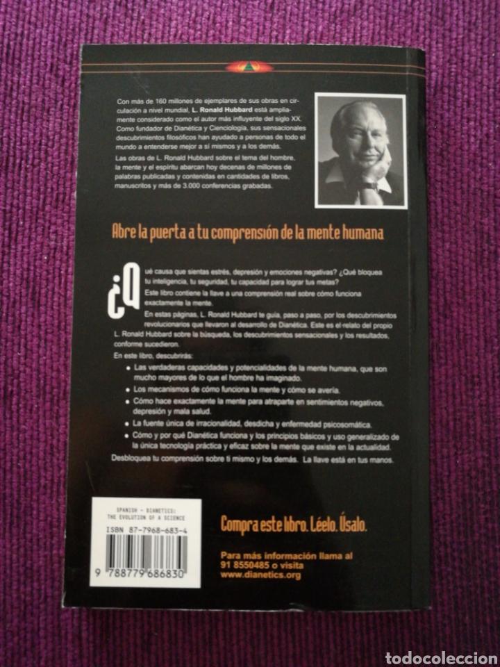 Libros: Dianética, la evolución de una ciencia. L. Ronald Hubbard - Foto 2 - 131606103