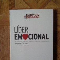 Libros: LÍDER EMOCIONAL - MANUAL DE USO. Lote 142641918