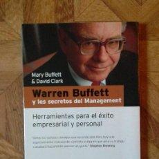 Libros: WARREN BUFFETT Y LOS SECRETOS DEL MANAGEMENT - HERRAMIENTAS PARA EL ÉXITO. Lote 142747510